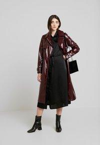 Gina Tricot - LOVISA DRESS - Skjortekjole - black - 1
