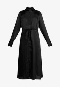 Gina Tricot - LOVISA DRESS - Skjortekjole - black - 5