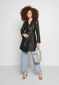 Gina Tricot - VAL BLAZER DRESS - Skjortekjole - black - 1