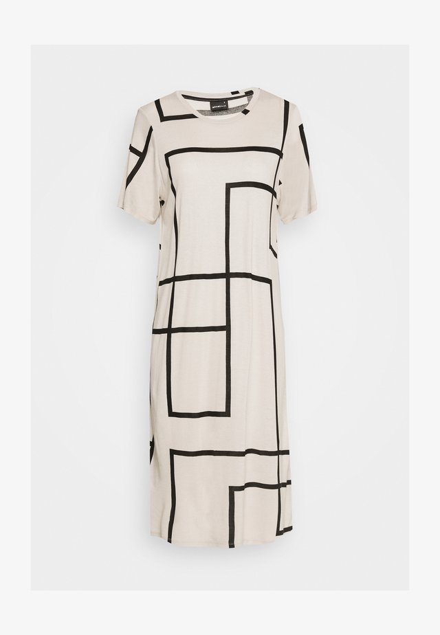 LILJA DRESS - Jerseyklänning - beige