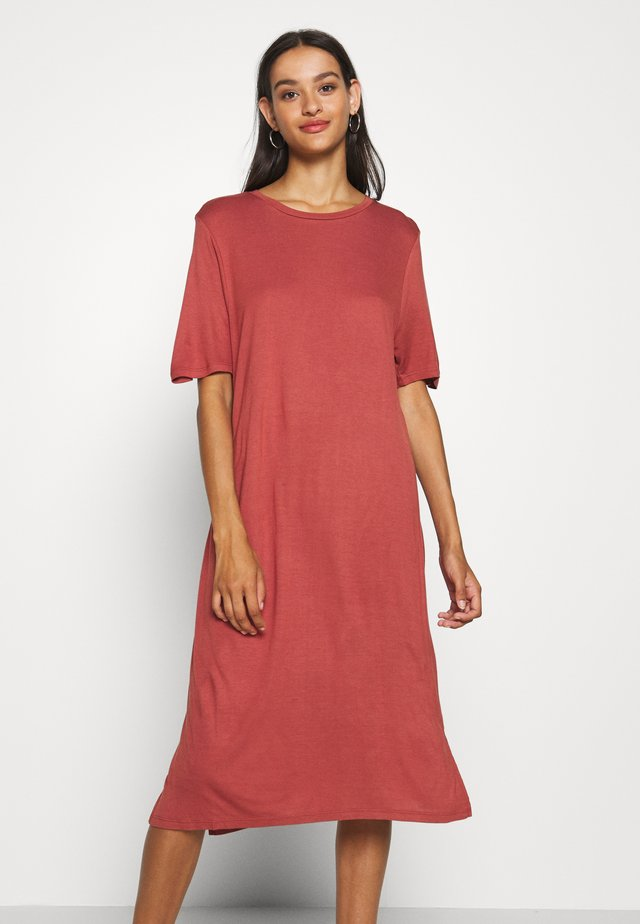 LILJA DRESS - Jersey dress - red