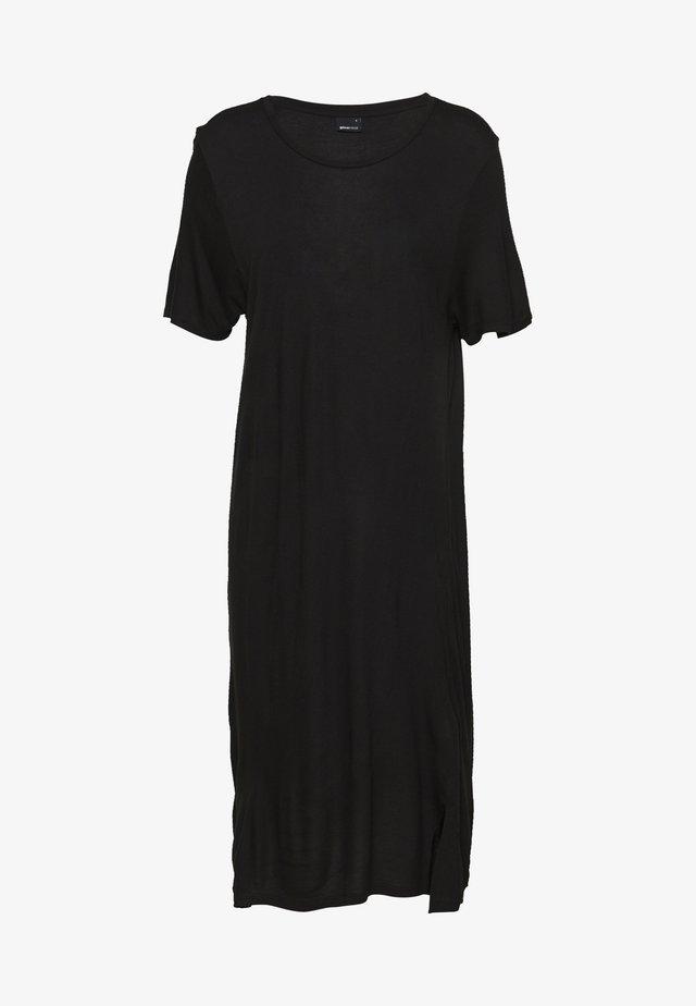 LILJA DRESS - Jerseyjurk - black