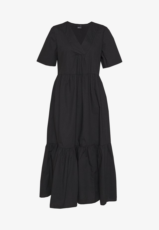 LUNA DRESS - Vestido informal - black