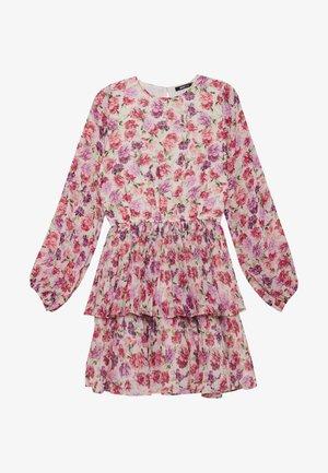 AMBER PLEATED DRESS - Kjole - multi-coloured