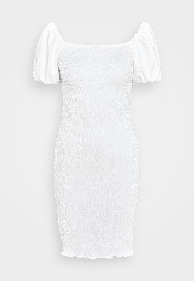 NELMA SMOCK DRESS - Fodralklänning - off white
