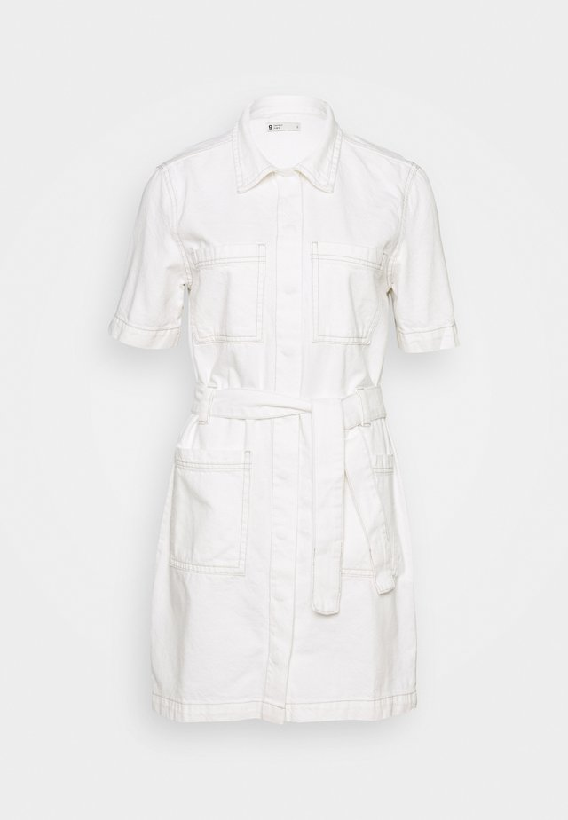 UTILITY DRESS - Vestido vaquero - raw white