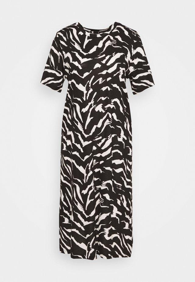 LILJA DRESS - Jerseykleid - black