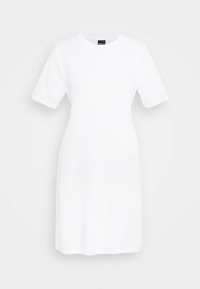 MELINDA DRESS - Jerseyklänning - white