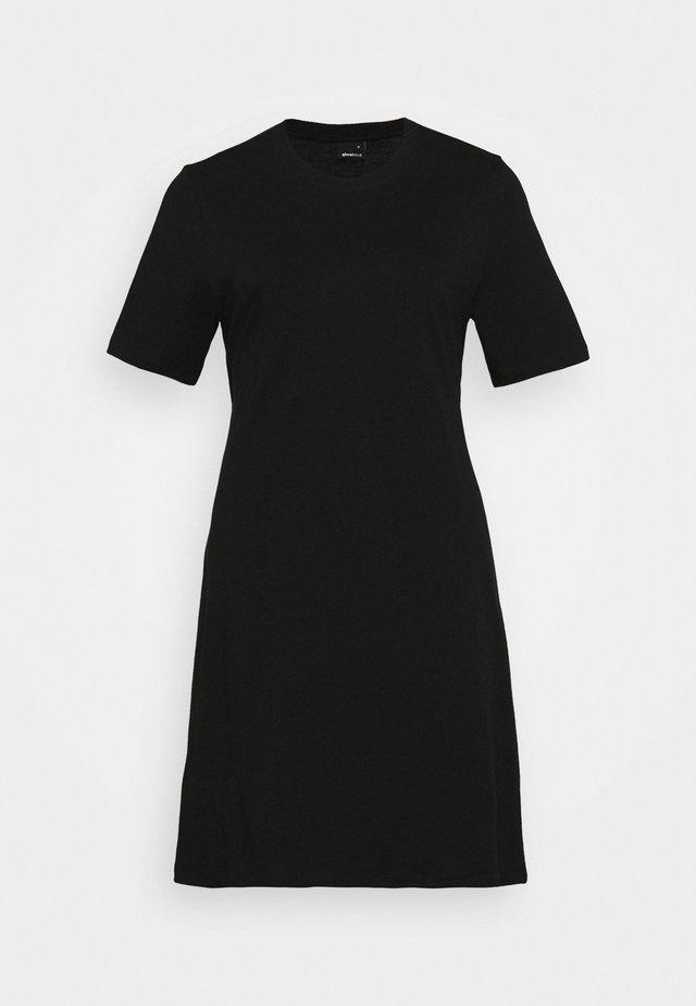 MELINDA DRESS - Žerzejové šaty - black