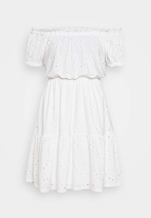 IRJA OFFSHOULDER DRESS - Sukienka z dżerseju - offwhite