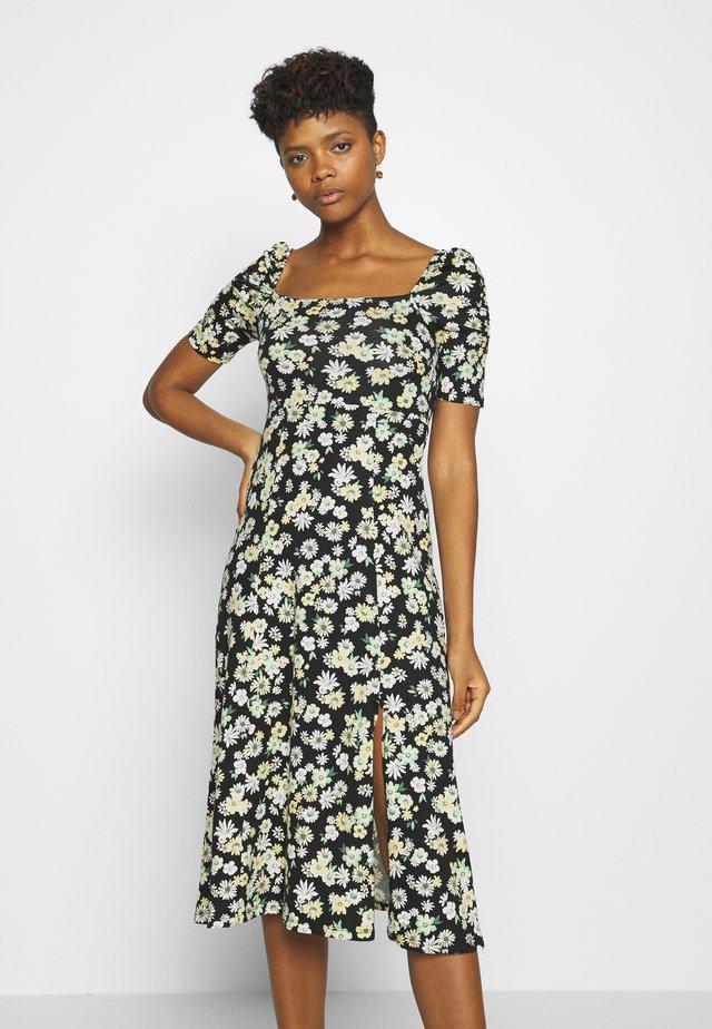 PUFF SLEEVE DRESS - Sukienka z dżerseju - multi coloured