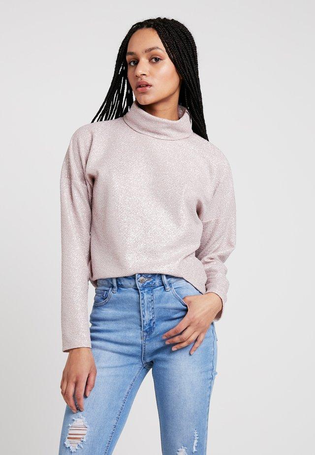 EVELYN - Langærmede T-shirts - silver pink