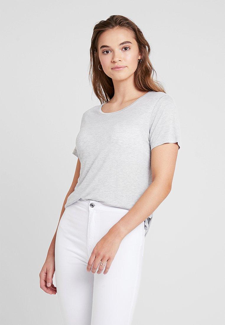 Gina Tricot - ELIN  - T-Shirt basic - grey