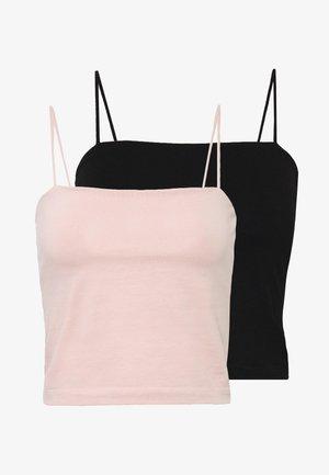 SCARLETT 2 PACK - Top - black/pink haze