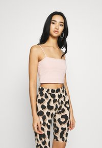 Gina Tricot - SCARLETT SINGLET 2 PACK - Top - black/pink haze - 4
