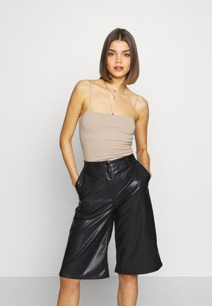 SCARLETT 2 PACK - Top - black/simply taupe