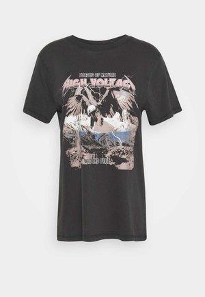 ELLIE TEE - T-Shirt print - black