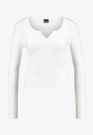 VERA - Bluzka z długim rękawem - off white