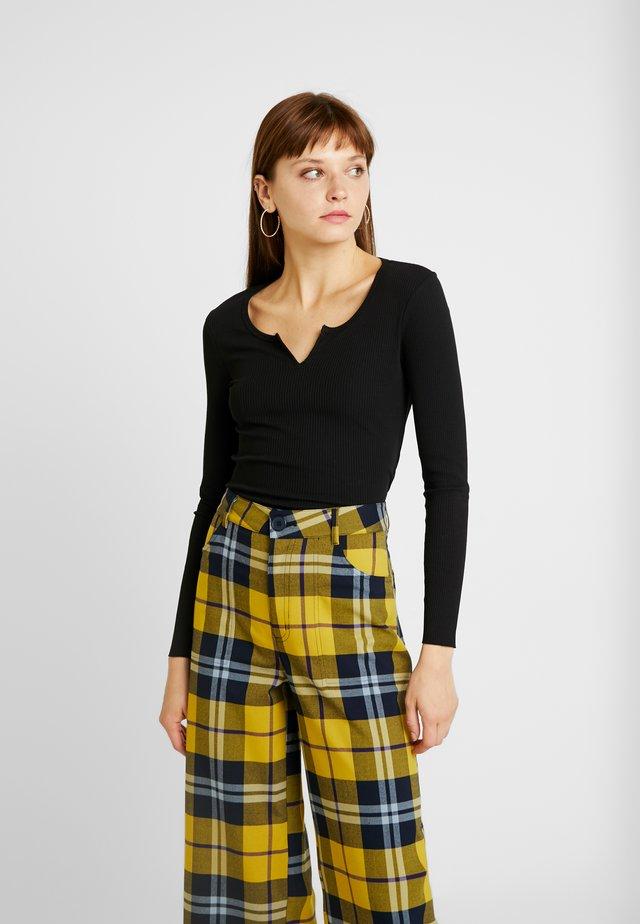 VERA - Långärmad tröja - black