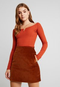 Gina Tricot - EXCLUSIVE  - Long sleeved top - picante - 0