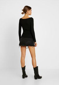 Gina Tricot - EXCLUSIVE  - Topper langermet - black - 2