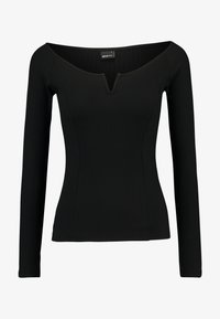 Gina Tricot - EXCLUSIVE  - Topper langermet - black - 3