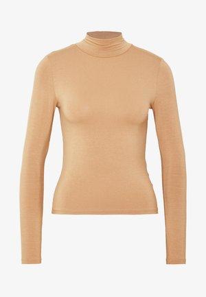 DORSIA - Langærmede T-shirts - camel beige