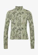 DORSIA - T-shirt à manches longues - green leo