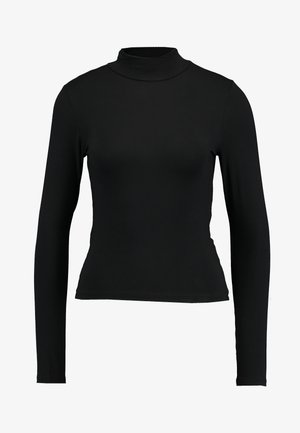 DORSIA TURTLENECK - Long sleeved top - black