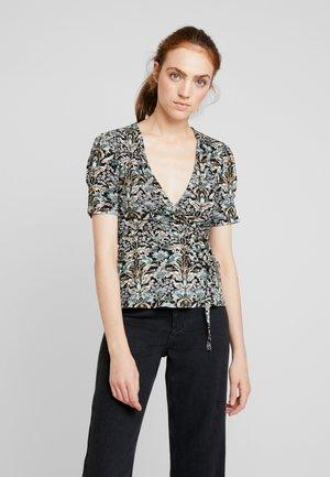 WRAP TOP - T-shirt print - nouveau floral
