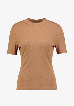 VANJA - T-Shirt print - camel