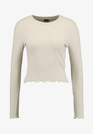MELANIE  - Camiseta de manga larga - soft beige