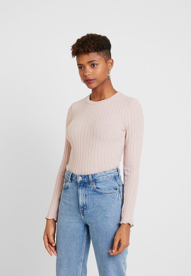 MELANIE  - Langærmede T-shirts - dusty pink