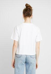 Gina Tricot - OLIVIA TEE - T-shirts - white - 2