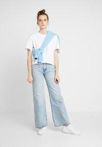 Gina Tricot - OLIVIA TEE - T-shirts - white - 1