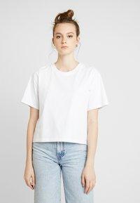Gina Tricot - OLIVIA TEE - T-shirts - white - 0