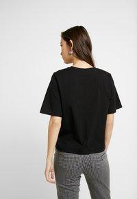 Gina Tricot - OLIVIA TEE - T-shirts - black - 2