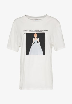 ELLEN TEE  - T-shirts med print - offwhite