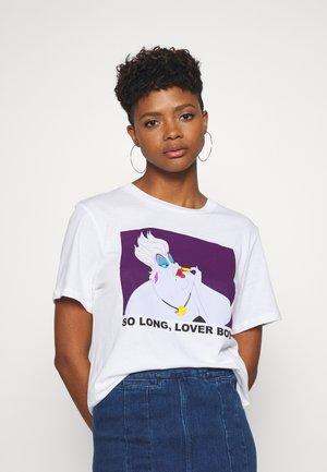 ELLEN TEE  - Print T-shirt - white