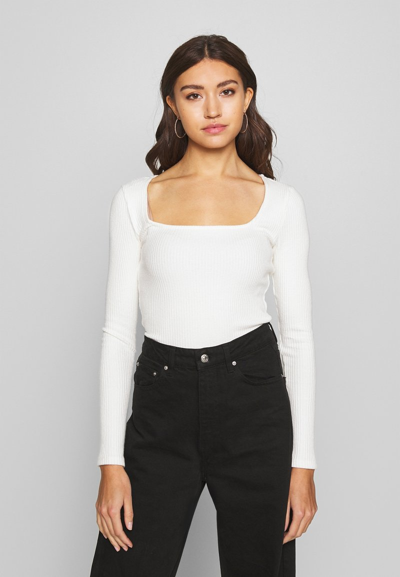 Gina Tricot - PENNY  - Topper langermet - off white