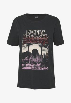 EDITH TEE - T-shirts med print - offbl/desert