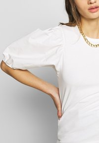Gina Tricot - LISA TOP - T-Shirt basic - white - 5