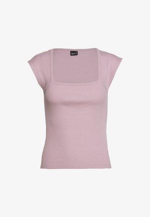 AMAYA  - T-Shirt print - lilac