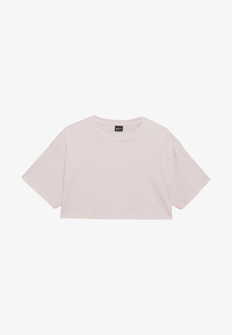 Gina Tricot - ZACHA CROPPED TEE - T-shirt basic - rose dust