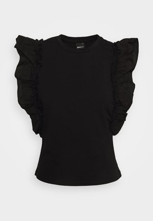JOSEFINA - Basic T-shirt - black
