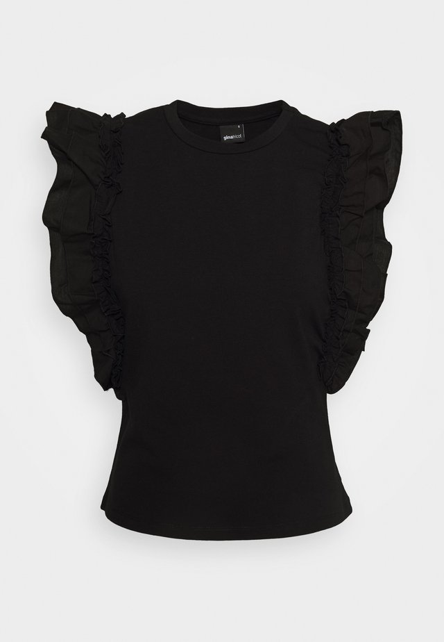 JOSEFINA - T-shirt basic - black