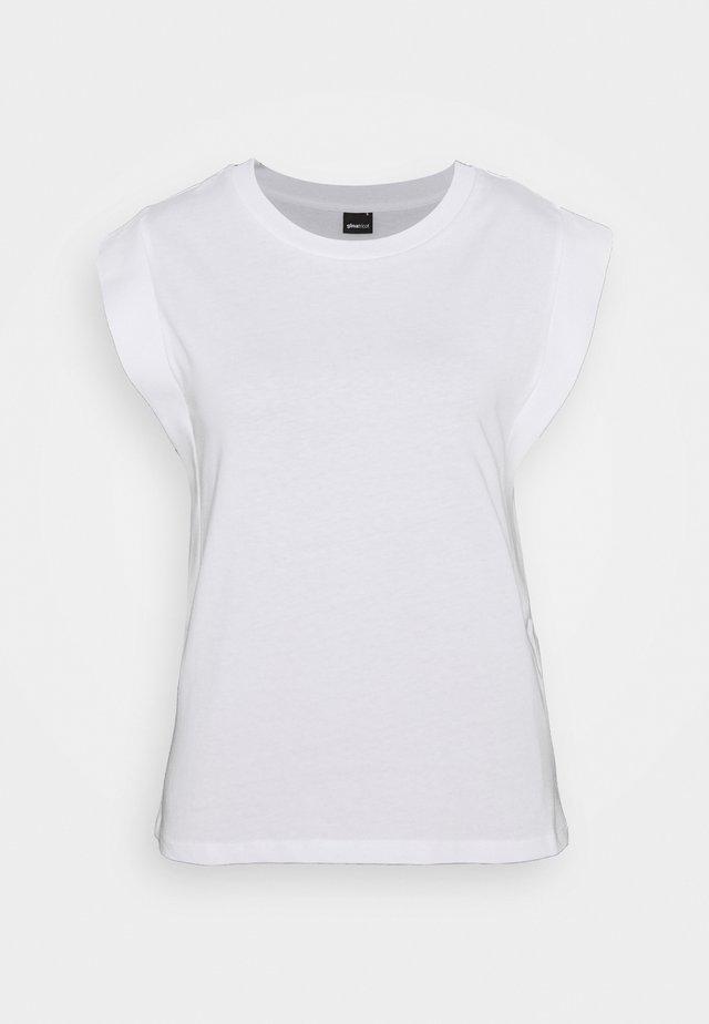 CHARLIE TANK - Jednoduché triko - white