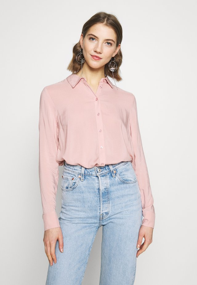 VILMA  - Button-down blouse - misty rose