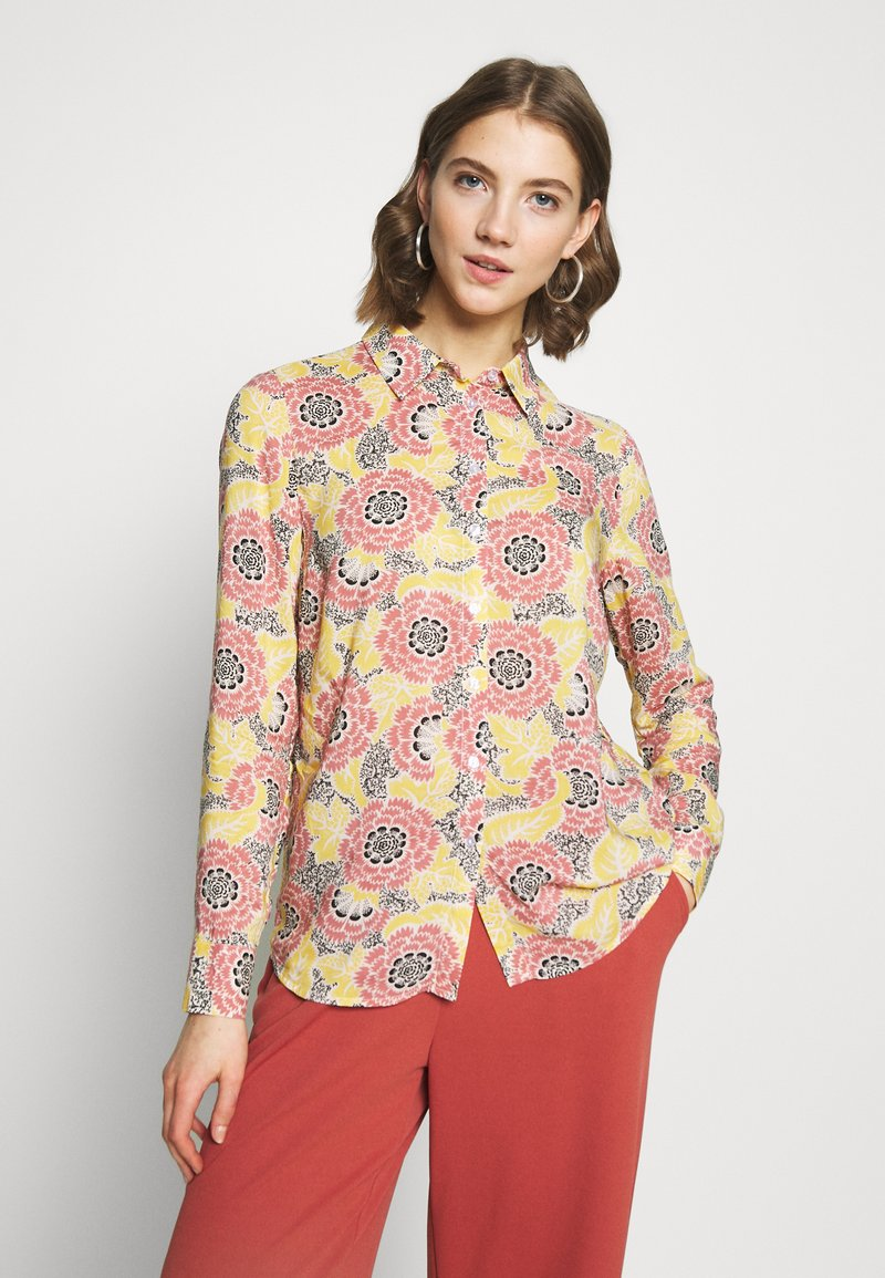 Gina Tricot - VILMA  - Button-down blouse - flower