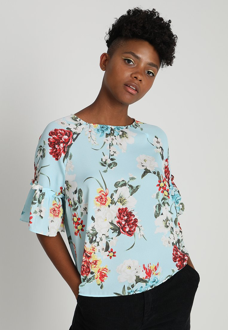 Gina Tricot - MONICA BLOUSE - Bluse - blue